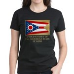 Ohio Proud Citizen Women's Dark T-Shirt