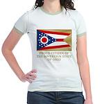 Ohio Proud Citizen Jr. Ringer T-Shirt