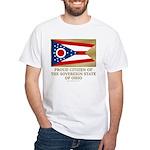 Ohio Proud Citizen White T-Shirt
