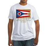 Ohio Proud Citizen Fitted T-Shirt