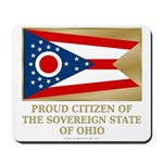 Ohio Proud Citizen Mousepad