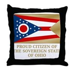 Ohio Proud Citizen Throw Pillow