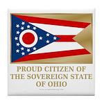 Ohio Proud Citizen Tile Coaster