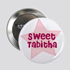 "Sweet Tabitha 2.25"" Button (10 pack)"