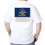 Proud Citizen of North Dakota Golf Shirt
