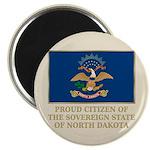 Proud Citizen of North Dakota Magnet