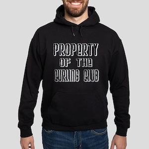 Property of the Curling Club Hoodie (dark)
