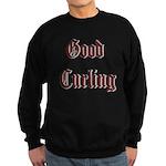 Good Curling Sweatshirt (dark)