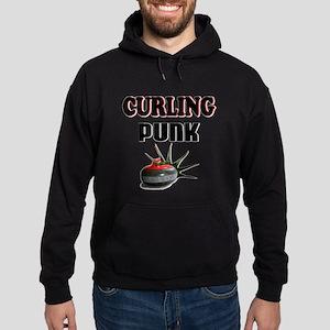 Curling Punk Hoodie (dark)