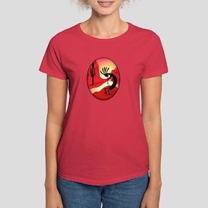 Native American Flute Kokopelli Silhouette Women s T-Shirts - CafePress 90abb6281a2a