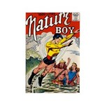 Nature Boy Rectangle Magnet