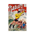 Nature Boy Rectangle Magnet