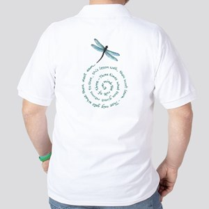 Witches law-rule of three Golf Shirt