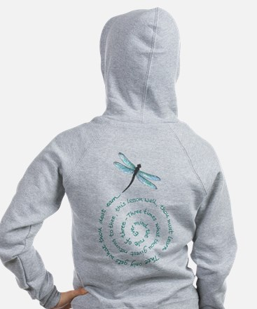 Witches law-rule of three Zip Hoodie
