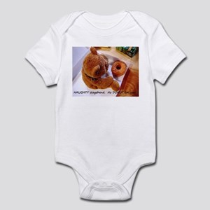 NAUGHTY Stagehand! Infant Bodysuit