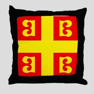 """Palaelogus Flag"" Throw Pillow"
