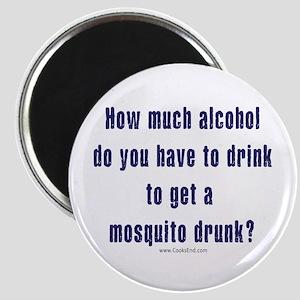 Drunk Mosquito? Magnet