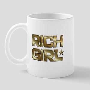 Rich Girl In Gold Mug