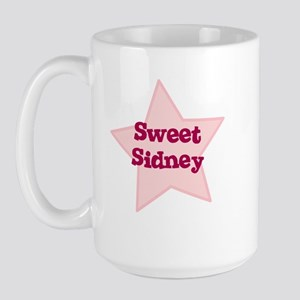 Sweet Sidney Large Mug