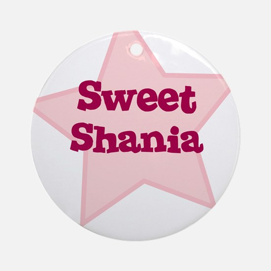 Sweet Shania Ornament (Round)