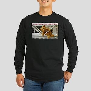 Do I really look Long Sleeve Dark T-Shirt