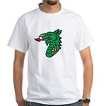 Midrealm Dragon Head White T-Shirt