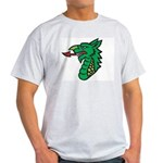 Midrealm Dragon Head Ash Grey T-Shirt