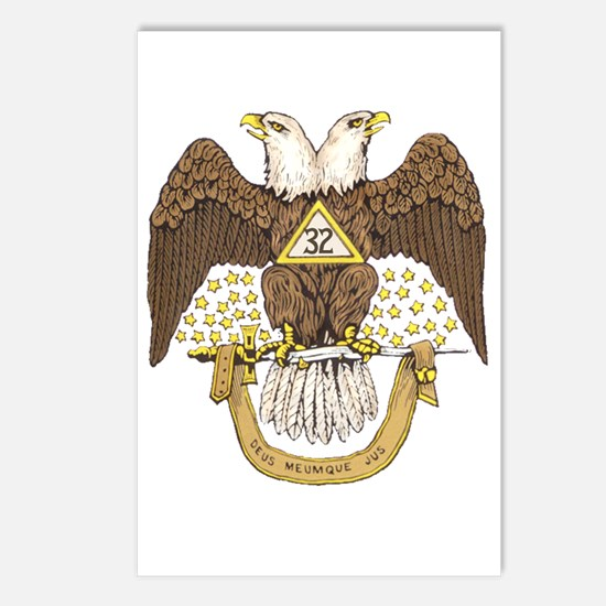Scottish Rite 32 Postcards (Package of 8)