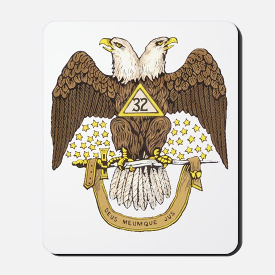 Scottish Rite 32 Mousepad