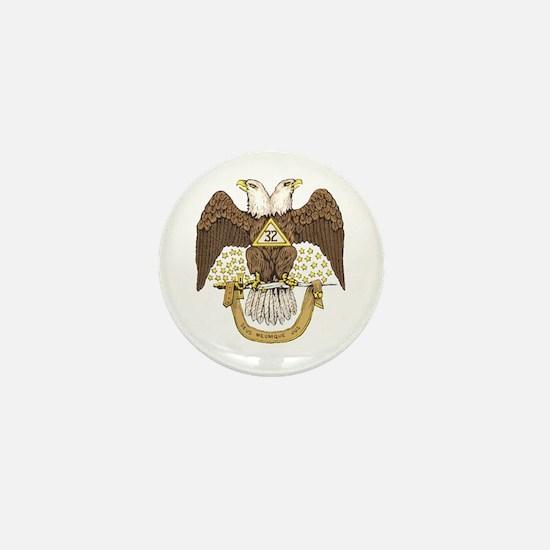 Scottish Rite 32 Mini Button (10 pack)