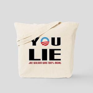 You Lie 2 Tote Bag
