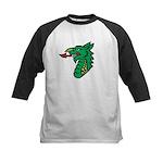 MIdrealm Dragon head Kids Baseball Jersey