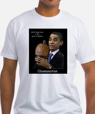 Obama Nation Black background T-Shirt