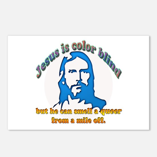 Jesus Can Smell A Queer Postcards (Package of 8)
