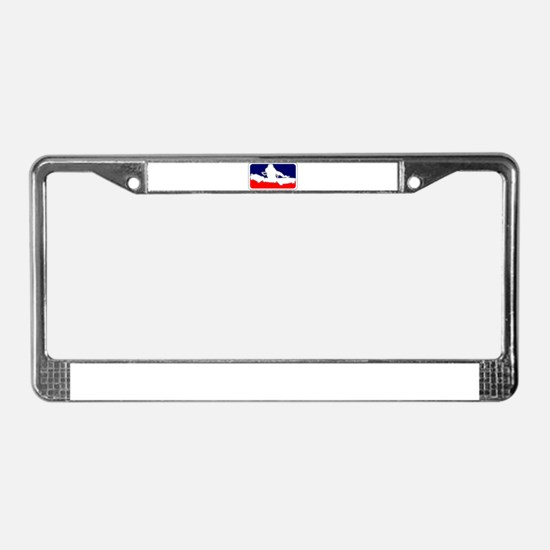 Cute Recording License Plate Frame