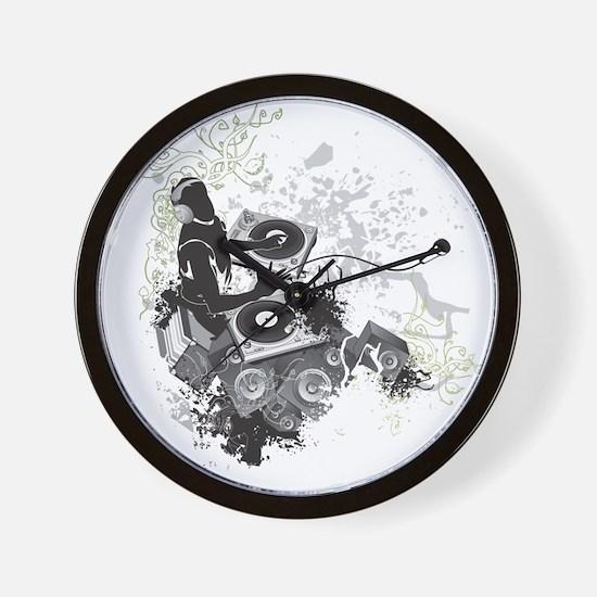 Unique Dj Wall Clock