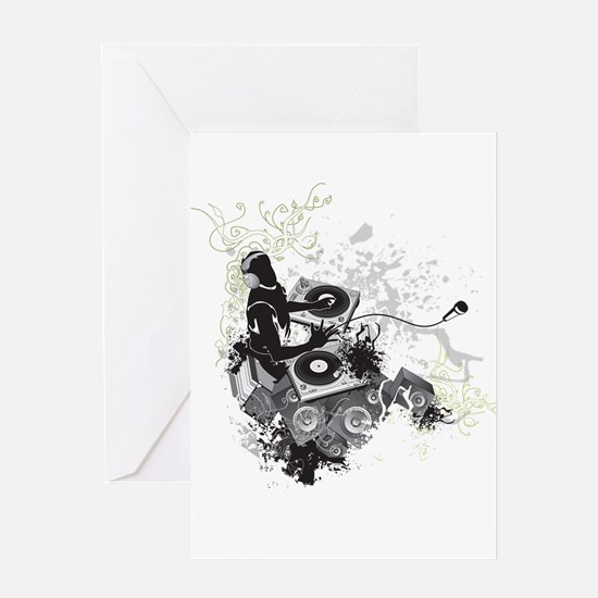 Cool Abstract Greeting Card