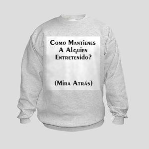 Humor Kids Sweatshirt