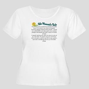 Mystical Mermaid Women's Plus Size Scoop Neck T-Sh