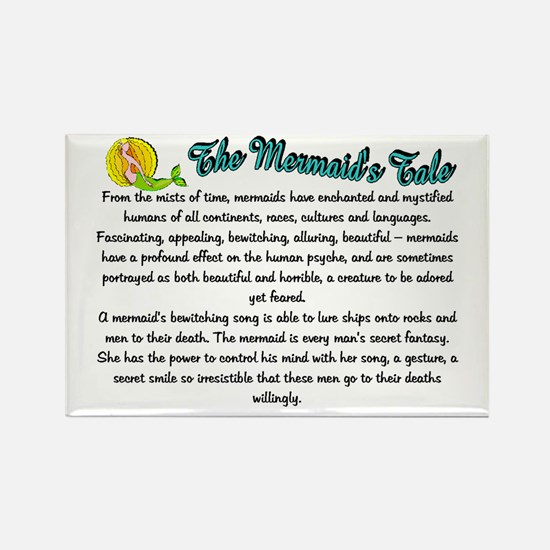 Mystical Mermaid Rectangle Magnet