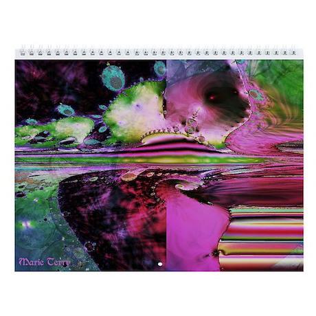 Fractal Wall Calendar
