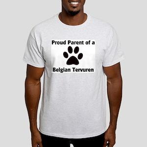 Proud: Belgian Tervuren  Ash Grey T-Shirt