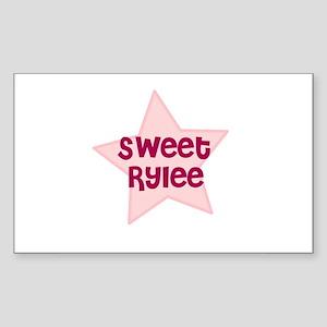 Sweet Rylee Rectangle Sticker