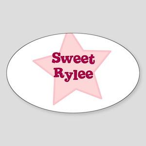 Sweet Rylee Oval Sticker