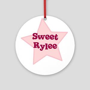 Sweet Rylee Ornament (Round)