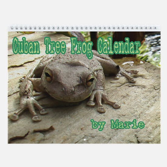 Cuban Tree Frog Wall Calendar
