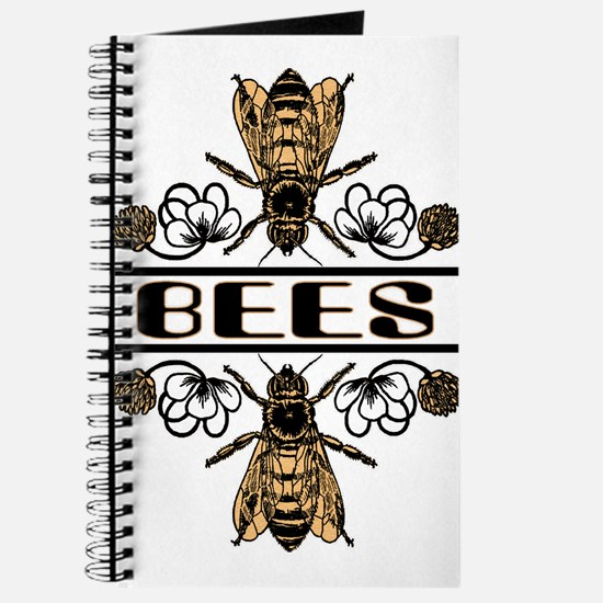 Bees With Clover Journal
