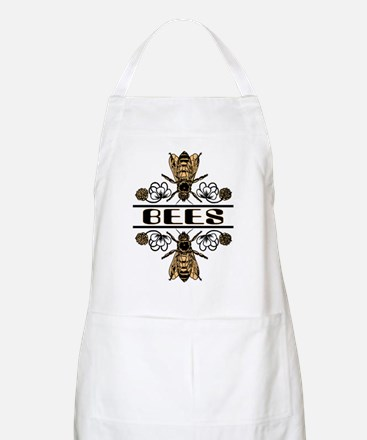 Bees With Clover BBQ Apron