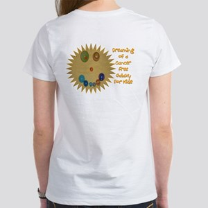 Cancer Free Kids (Galaxy) Women's T-Shirt