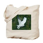 On Silent Wings: Tote Bag